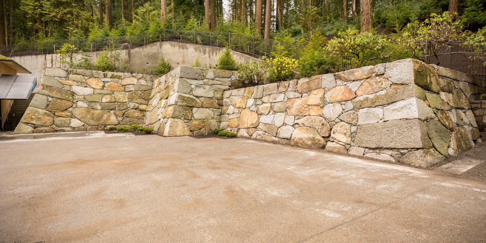 Portland Japanese Garden Castle Wall_Photo Bruce Forster