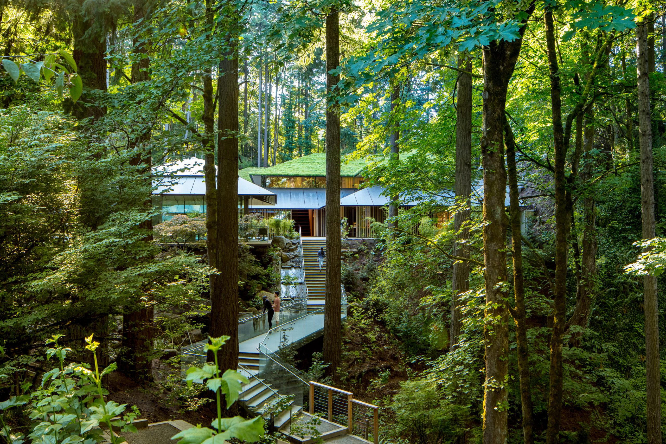 Portland Japanese Garden's Cultural Village, by James Florio